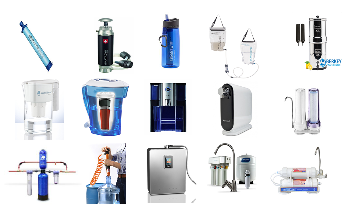 tap water filters