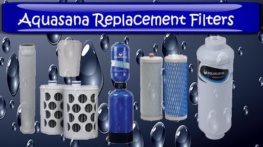 aquasana replacement filter units