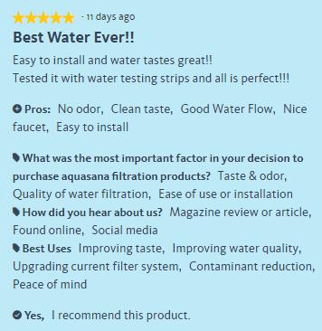 Aquasana Reverse Osmosis System Reviews