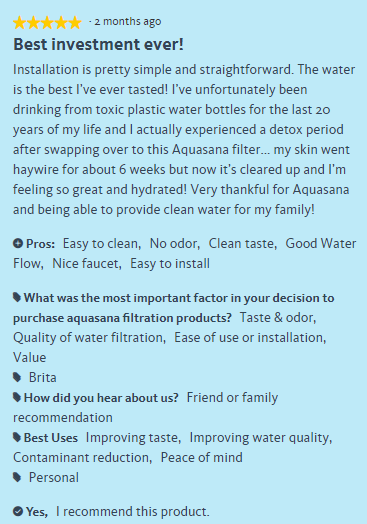 Aquasana Reverse Osmosis Reviews